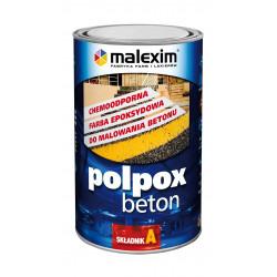 1 L POLPOX BETON - czerwony tlenkowy RAL 3009