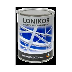 LONIKOR - farba ftalowa do gruntowania przeciwrdzewna