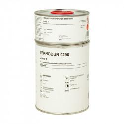 0,9 L Teknodur 290 lakier poliuretanowy - mieszanina