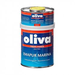 0.74 L, RAL 9017, Emapur MARINA emalia poliuretanowa